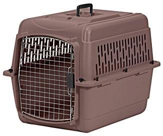Aspen Pet Pet Porter Plastic Kennel nutmeg
