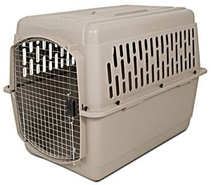 Aspen Pet Pet Porter Plastic Kennel mouse grey