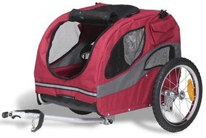 Solvit HoundAbout Pet Bicycle Trailer Review