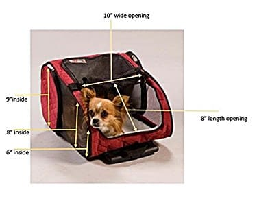 Snoozer Wheel Around 4-In-1 Pet Carrier