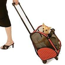 A review of the Snoozer Wheel Around 4-In-1 Pet Travel Carrier