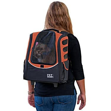 Pet Gear I-GO2 Escort Roller Backpack