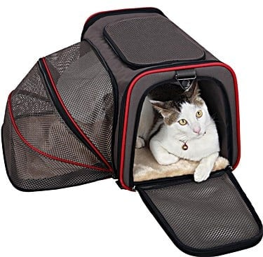 Petsfit Comfort Expandable Foldable Travel Carrier
