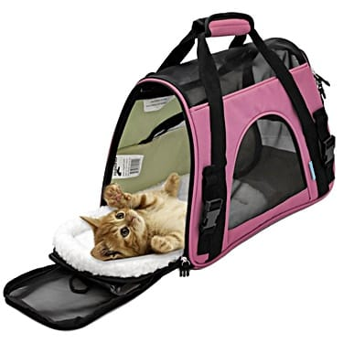 pet carrier by paws and pals