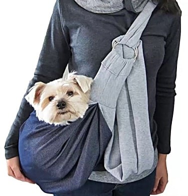 pet sling for a small dog