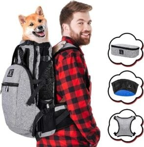 PROPLUMS 2021 Upgrade Dog Carrier Backpack