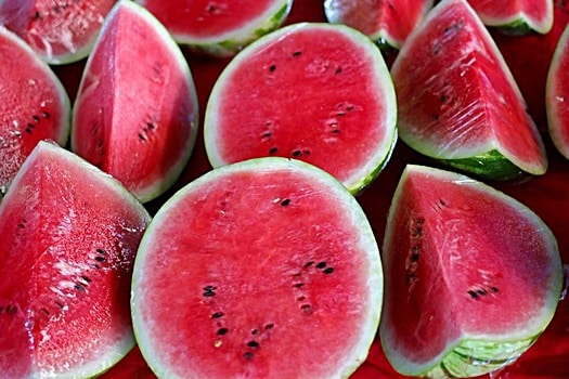is watermelon toxic to dogs?