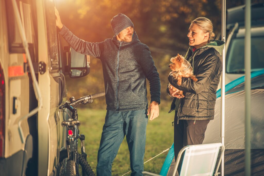 Should You Leave Your Pet in RV