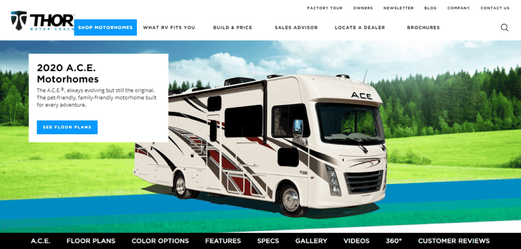 Ace Pet-Friendly Motorhomes