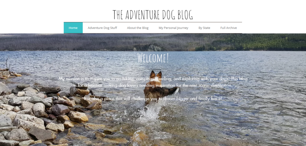 The Adventure Dog Blog