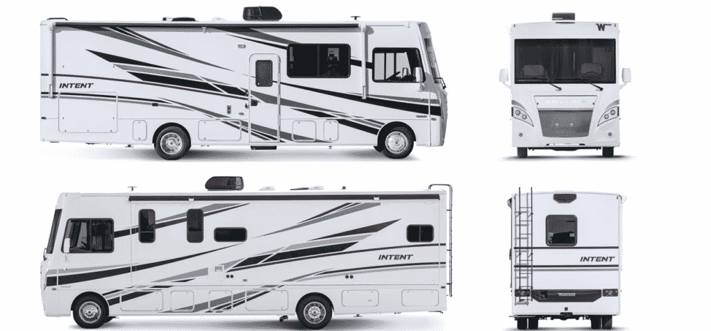 Winnebago Pet Friendly RV Exterior